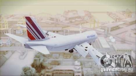 Boeing 747-128B Air France для GTA San Andreas вид слева