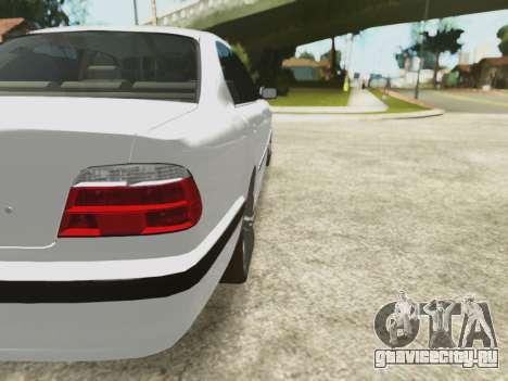 BMW 750i для GTA San Andreas вид сверху