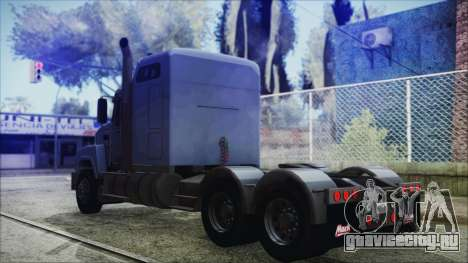 Mack Pinnacle v1.0 для GTA San Andreas вид слева