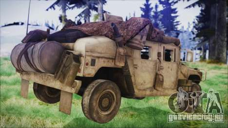 Humvee from Spec Ops The Line для GTA San Andreas вид слева