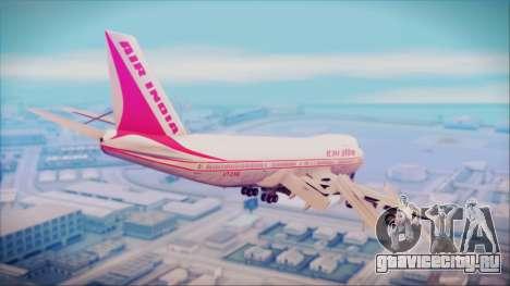 Boeing 747-237Bs Air India Himalaya для GTA San Andreas вид слева
