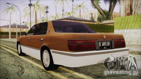 Toyota Crown Royal Saloon 1994 для GTA San Andreas вид слева