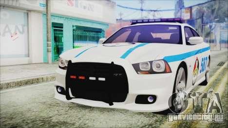 Dodge Charger SRT8 2012 Iraqi Police для GTA San Andreas
