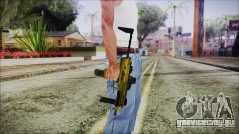 Point Blank MP7 Gold Special для GTA San Andreas третий скриншот
