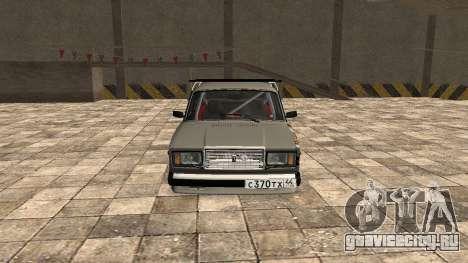 ВАЗ 2107 JDM для GTA San Andreas вид слева