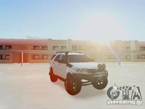 Toyota Fortuner 2012 TRD Off-Road для GTA San Andreas