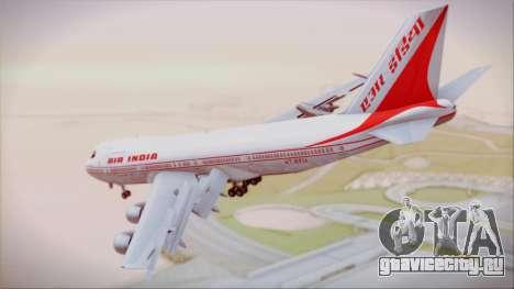 Boeing 747-237Bs Air India Krishna Deva Raya для GTA San Andreas вид слева