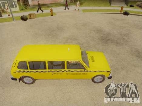ВАЗ 2131 7-Дверное Такси для GTA San Andreas вид справа