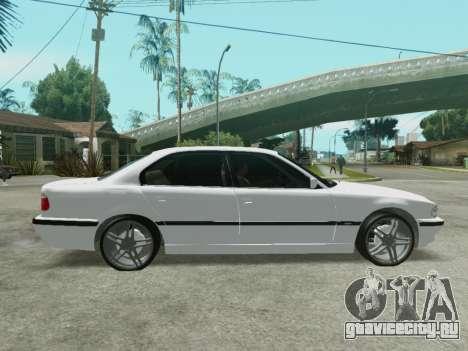 BMW 750i для GTA San Andreas вид слева