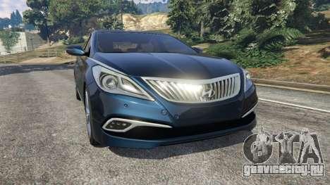 Hyundai Grandeur 2016 для GTA 5