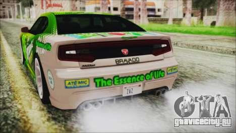 GTA 5 Bravado Buffalo Sprunk для GTA San Andreas вид сверху