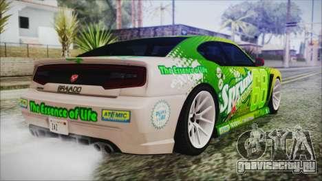GTA 5 Bravado Buffalo Sprunk для GTA San Andreas вид слева