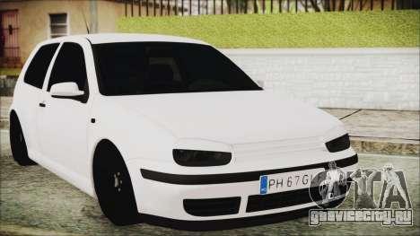 Volkswagen Golf 4 Romanian Edition для GTA San Andreas
