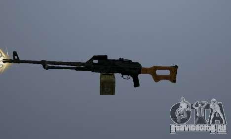 Пулемёт Калашникова для GTA San Andreas второй скриншот