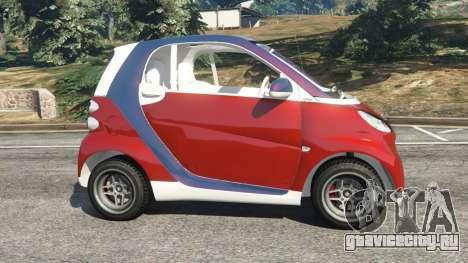 Smart ForTwo 2012 v0.1 для GTA 5 вид слева