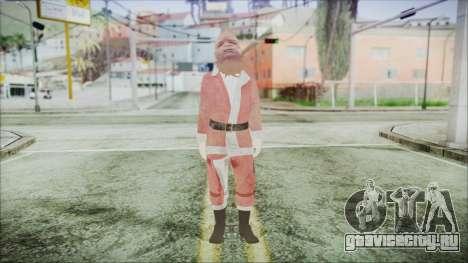 GTA 5 Santa Афроамериканец для GTA San Andreas второй скриншот