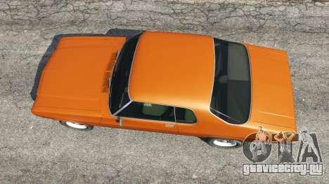 Holden Monaro GTS для GTA 5 вид сзади