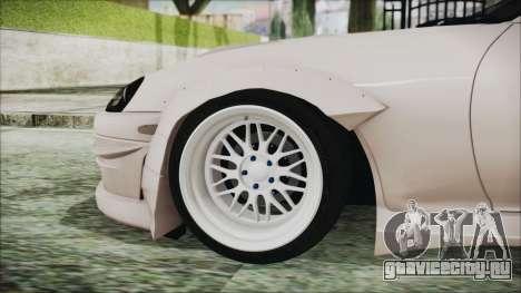 Toyota Supra JZA80 RocketBunny для GTA San Andreas вид сзади слева