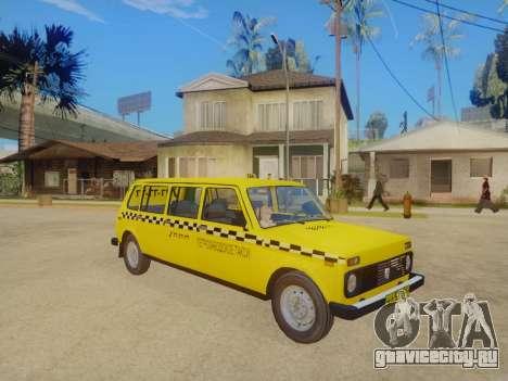 ВАЗ 2131 7-Дверное Такси для GTA San Andreas вид слева