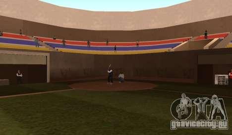 Бейсбол для GTA San Andreas третий скриншот