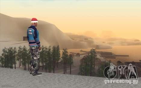 Winter Vacation 2.0 SA-MP Edition для GTA San Andreas