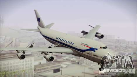 Boeing 747-283BM Scandinavian Airlines для GTA San Andreas