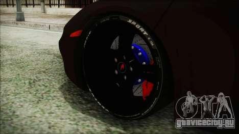 McLaren MP4 12C 2011 для GTA San Andreas вид сзади слева