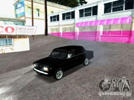 ВАЗ 2107-107 для GTA San Andreas вид слева