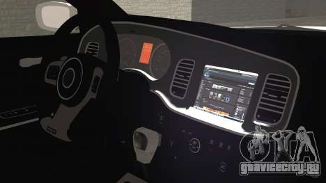 Dodge Charger SRT8 2012 Iraqi Police для GTA San Andreas вид справа