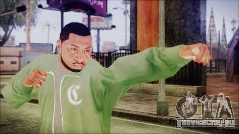 GTA 5 Grove Gang Member 1 для GTA San Andreas