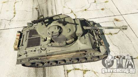 M4A3E8 Sherman Fury для GTA 5