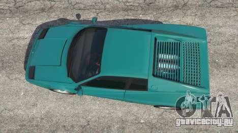Grotti Cheetah Classic для GTA 5 вид сзади