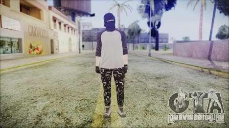 GTA Online Skin 8 для GTA San Andreas второй скриншот