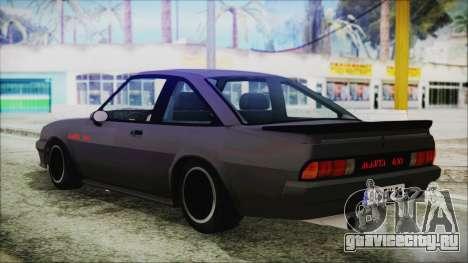 Opel Manta GSi Exclusive для GTA San Andreas вид слева