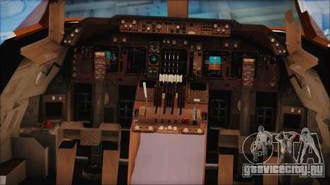 Boeing 747-237Bs Air India Himalaya для GTA San Andreas вид сзади