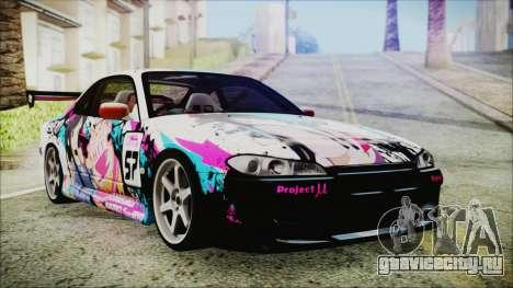Nissan Silvia S15 Itasha Beta для GTA San Andreas