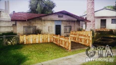 Wooden Fences HQ 1.2 для GTA San Andreas