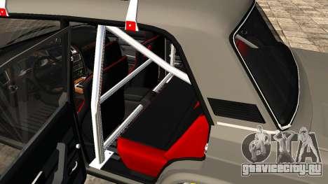 ВАЗ 2107 JDM для GTA San Andreas вид сзади