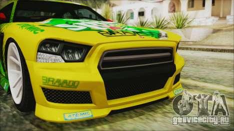GTA 5 Bravado Buffalo Sprunk для GTA San Andreas вид изнутри