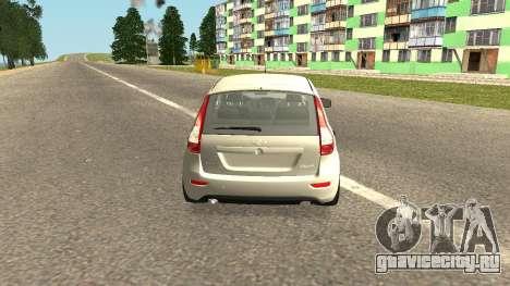 Lada Kalina 2 - Granta для GTA San Andreas вид слева