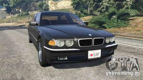 BMW L7 750iL (E38) для GTA 5