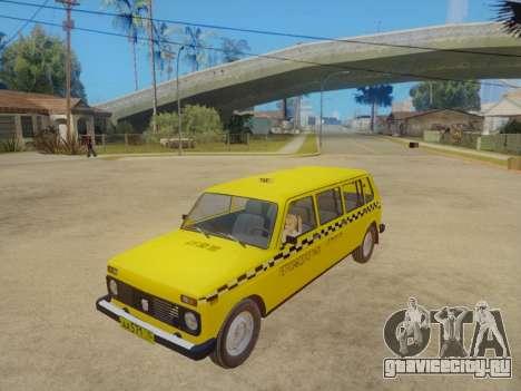 ВАЗ 2131 7-Дверное Такси для GTA San Andreas