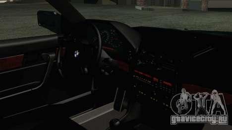 BMW 525i E34 1992 для GTA San Andreas вид справа