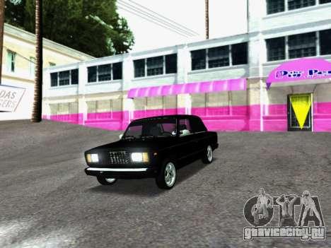 ВАЗ 2107-107 для GTA San Andreas