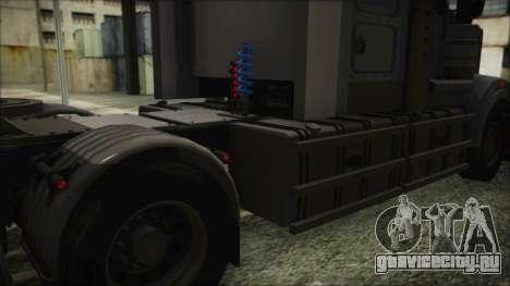 Kenworth T908 v1.0 для GTA San Andreas вид сзади
