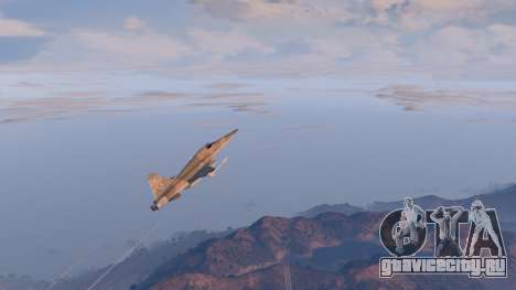 Northrop F-5E Tiger II USA для GTA 5