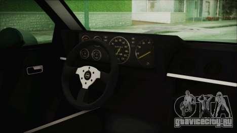 Opel Manta GSi Exclusive для GTA San Andreas вид справа