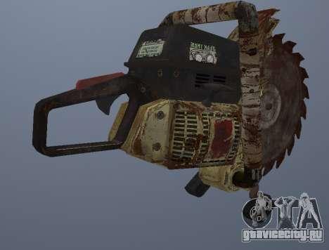 Ручная Циркулярная Пила для GTA San Andreas третий скриншот