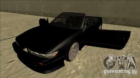 Nissan Silvia S13 для GTA San Andreas вид сбоку