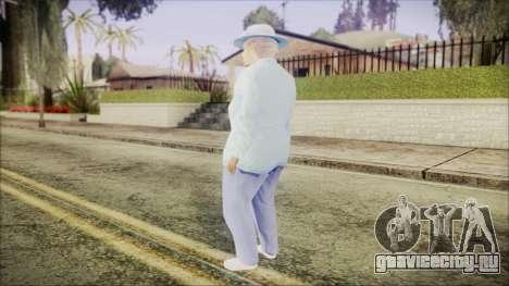 World In Conflict Old Lady для GTA San Andreas третий скриншот